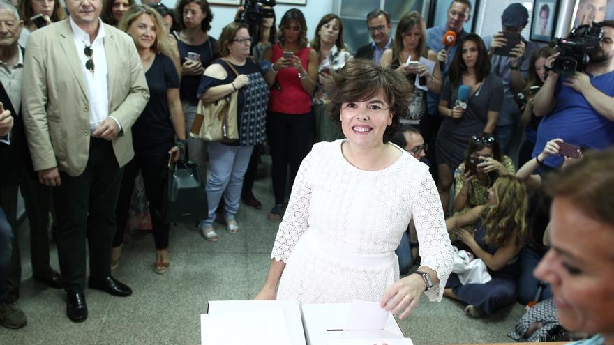 Santamaría espera que los afiliados voten pensando en la responsabilidad que tienen ante las próximas elecciones