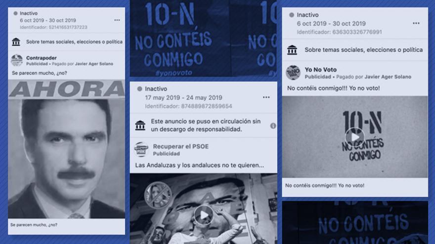 La red de campaña engañosa para beneficiar al PP ha llegado a más de 11 millones de muros de Facebook