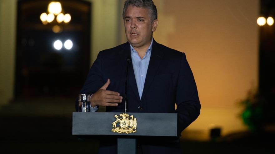Fotografía de archivo del presidente de Colombia, Iván Duque.