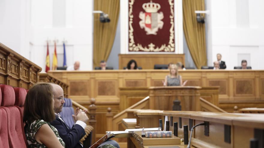 Carmen Picazo interviene en las Cortes de Castilla-La Mancha