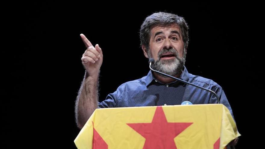 El presidente de la ANC, Jordi Sánchez.