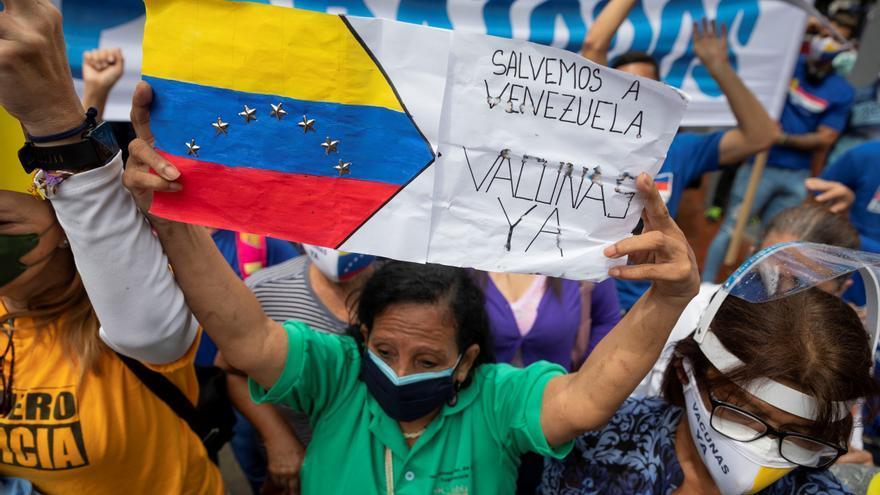 Venezuela, de la paciente espera al clamor desesperado por vacunas anticovid