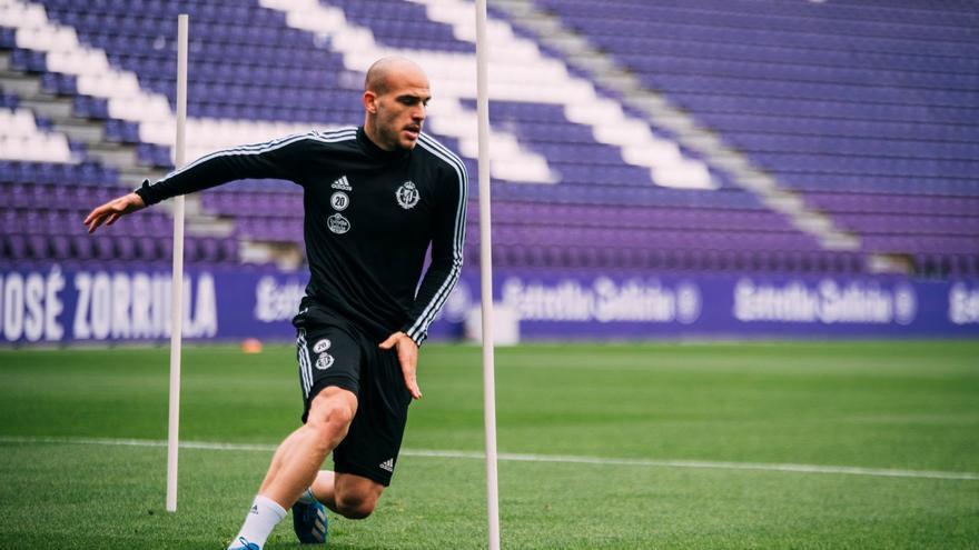 Sandro durante un entrenamiento tras la vuelta a la actividad.