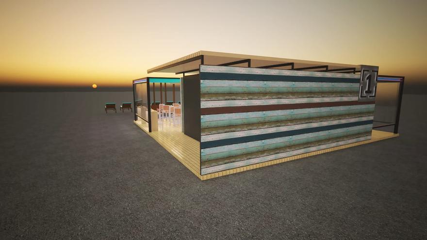 El primer quiosco de la playa de Santa Cruz de La Palma será una realidad antes de verano