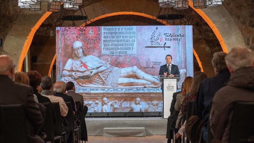 Presentación de los actos conmemorativos del IX Centenario de la Reconquista de Sigüenza FOTO: JCCM