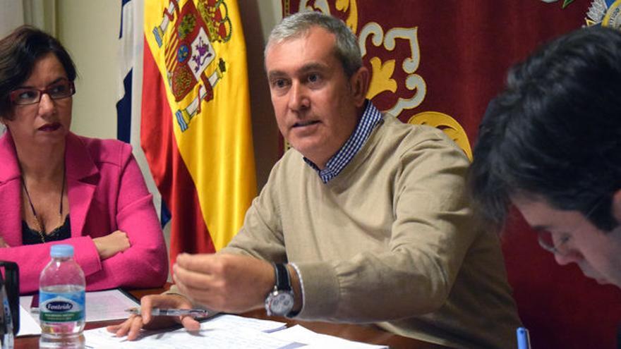 Óscar García, concejal de Atención Social en Santa Cruz, del PP