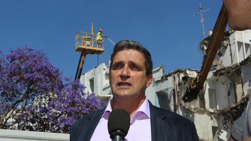 El concejal de Urbanismo de Las Palmas de Gran Canaria, Javier Doreste (LPGC Puede)