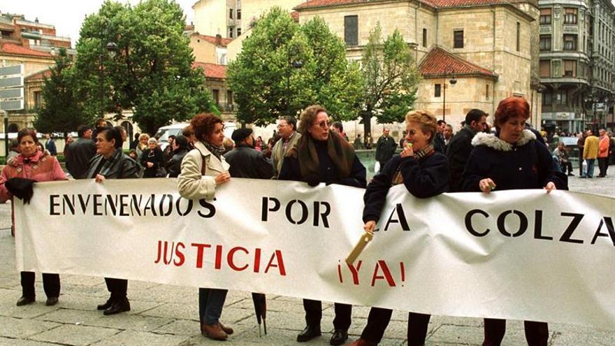 Treinta años después del comienzo del primer juicio de la colza, las víctimas aún piden reparación