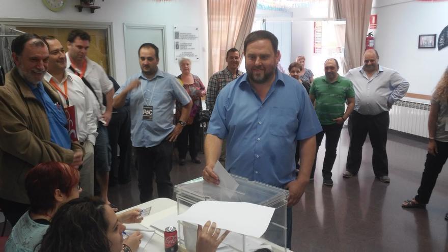 Junqueras (ERC) llama a votar para ejercer la democracia
