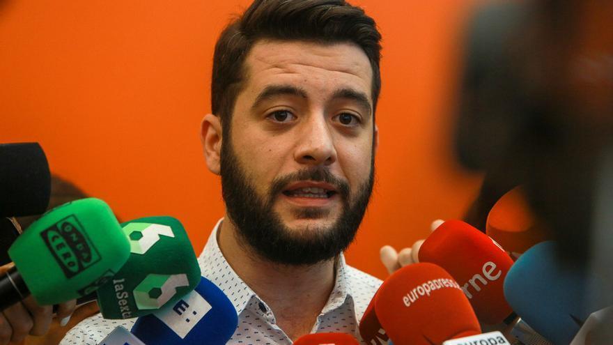 César Zafra sustituirá a Aguado como portavoz de Ciudadanos en la Asamblea de Madrid