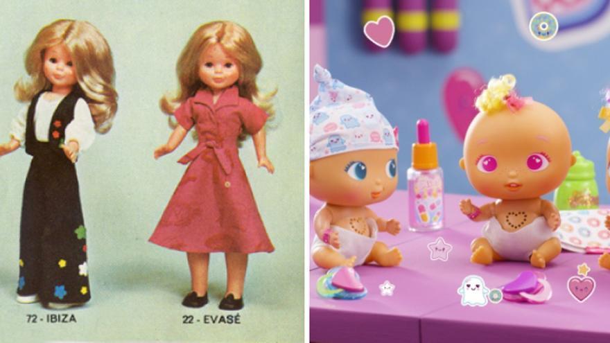 Las Nancys y las Bellies, dos de las muñecas más populares de Famosa