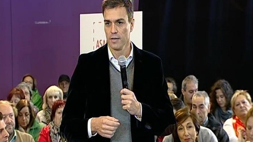 """Sánchez se pregunta """"de dónde"""" va a sacar Podemos los 160.000 millones de euros que costaría una renta básica universal"""