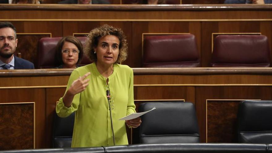Montserrat: es una vergüenza que Podemos haya reprobado a la ministra