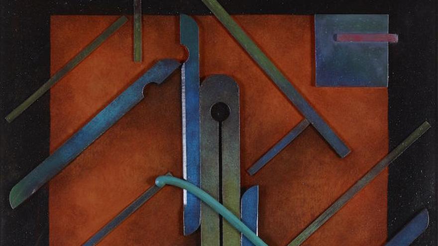 Marc EEMANS, Kallomorphose V, 1924, painted FOTO: Colección Polo