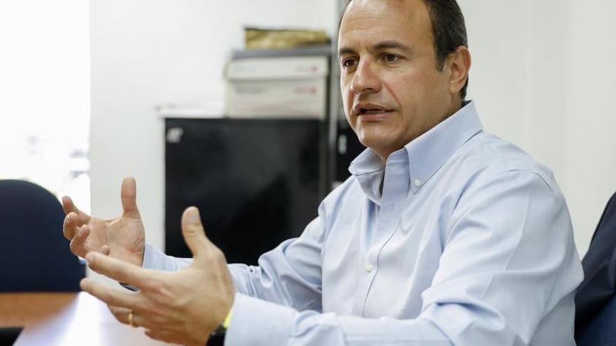 Imagen de archivo del gerente general de la multinacional tecnológica IBM, Patricio Espinosa.