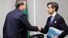 Bolsonaro recibe por primera vez al presidente de Telefónica