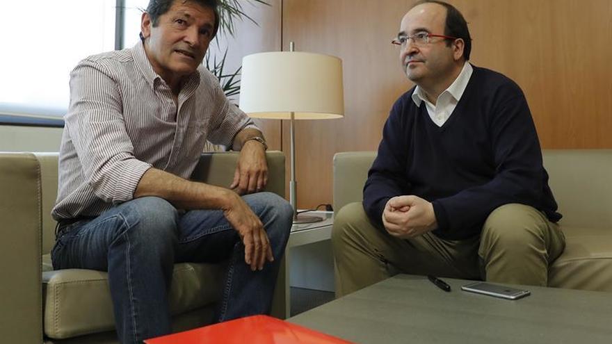Fernández e Iceta acuerdan crear una comisión para abordar sus discrepancias