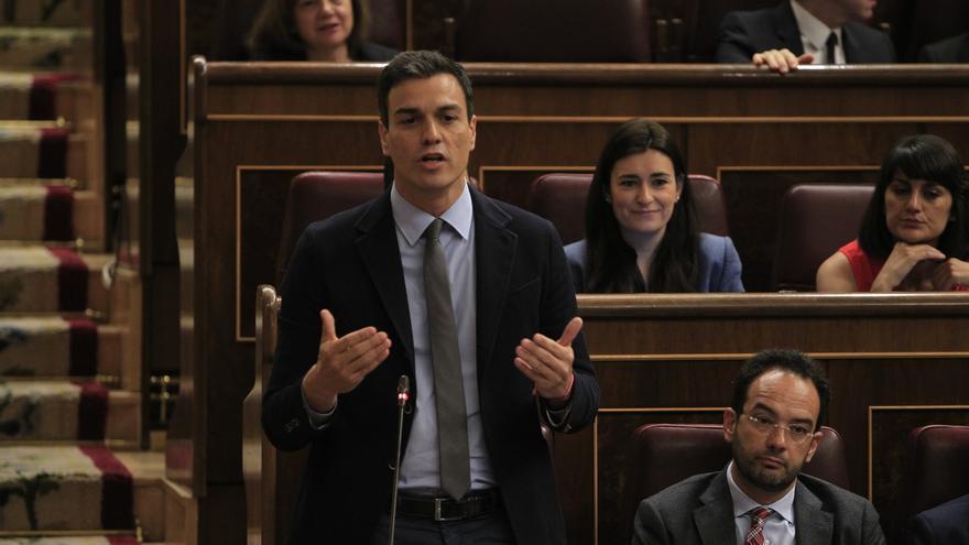 """Sánchez niega que equipare a PP y Bildu, al decir que no pactará con ellos, y dice tener claras las """"diferencias"""""""