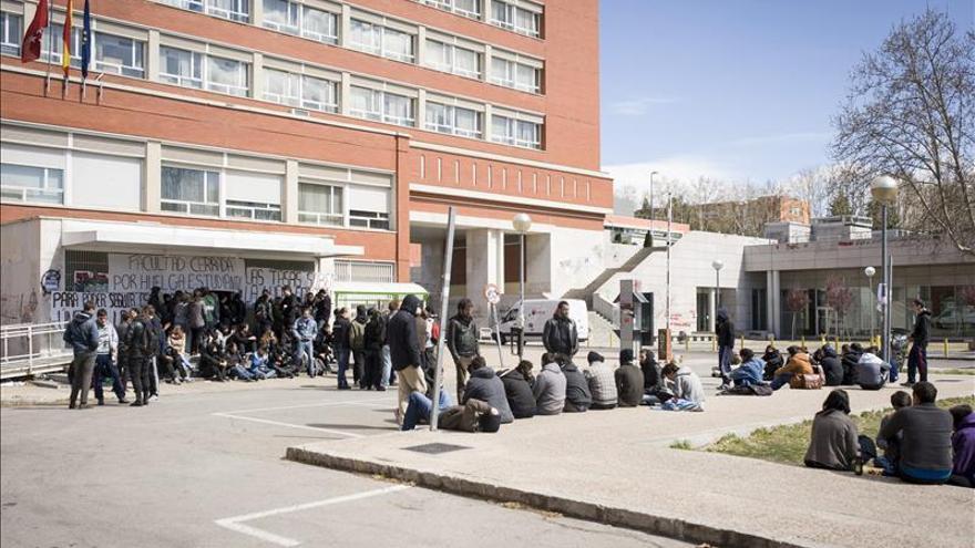 Más de 50 detenidos en la Universidad Complutense durante altercados