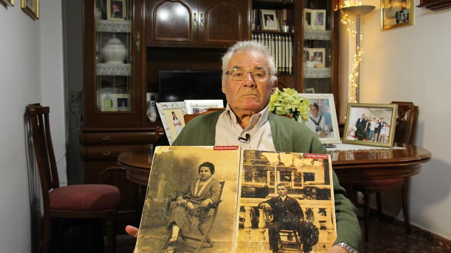 Antonio Narváez quiere enterrar a sus padres, ambos desaparecidos durante la Guerra Civil // Amnistía Internacional