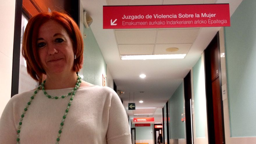 Ana Llorca, titular del Juzgado de Violencia contra la Mujer de Pamplona.
