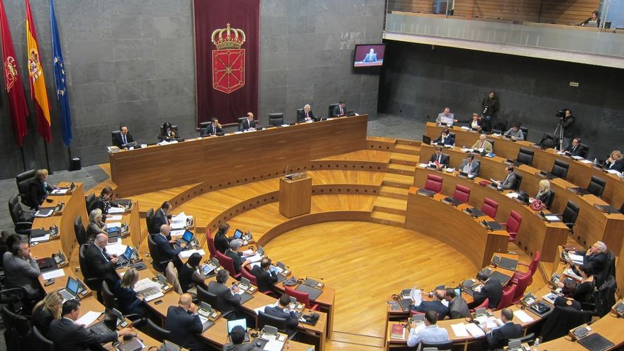 El Parlamento eleva al 65% la responsabilidad de financiación del Gobierno foral en el transporte urbano