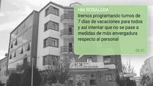 Hospital La Rosaleda. Santiago.