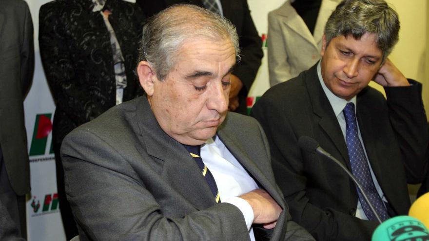 Dimás Martín y Celso Betancor.