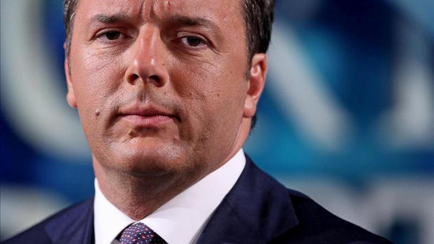 """Renzi dice que el modelo a seguir """"no puede ser el de España"""""""