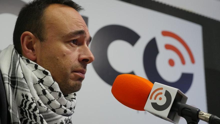José Ramón Blanco durante la entrevista en colaboración entre El Faradio y eldiario.es.   CARLOS ATIENZA