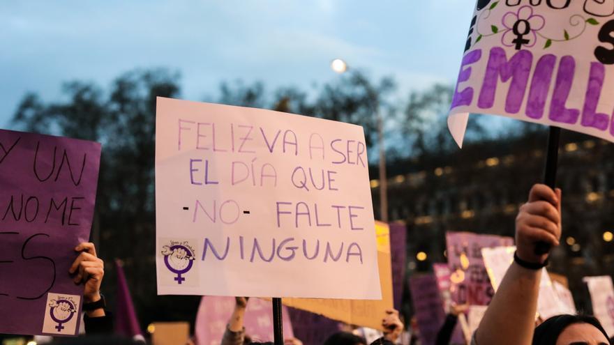 Manifestación del 8M (Día Internacional de la Mujer) en Madrid / Jesús Hellín - Europa Press - Archivo