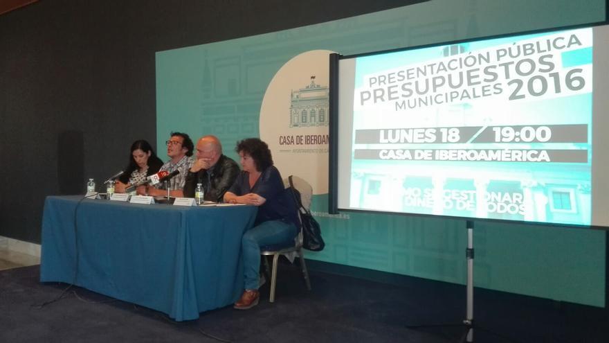 Imagen del acto celebrado en la Casa de Iberoamérica de Cádiz.