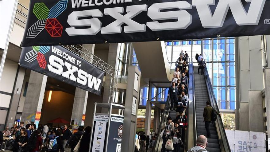 El festival South By Southwest. Foto: EFE