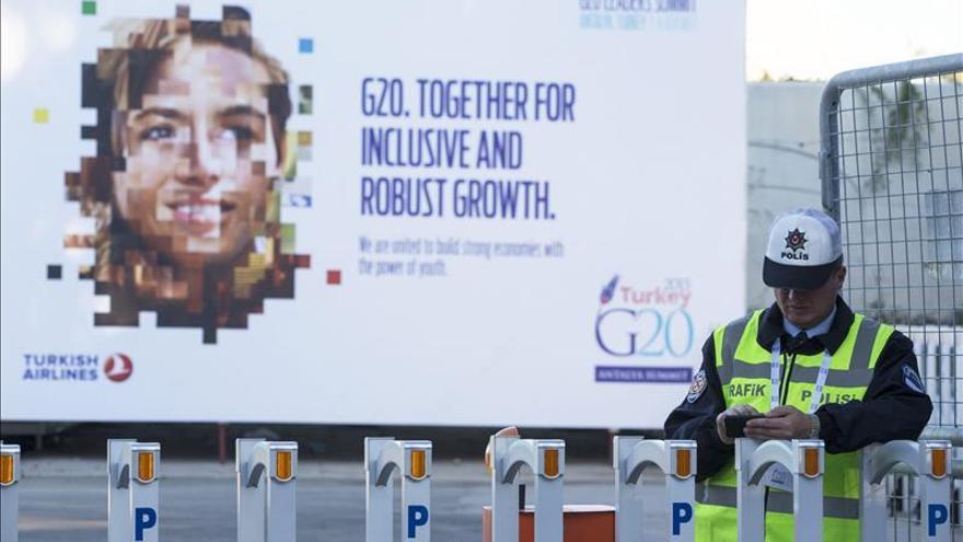 La cumbre del G20 refuerza aún más su blindaje por los atentados de París