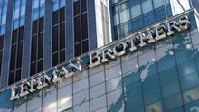Imagen de archivo de un edificio del banco Lehman Brothers.
