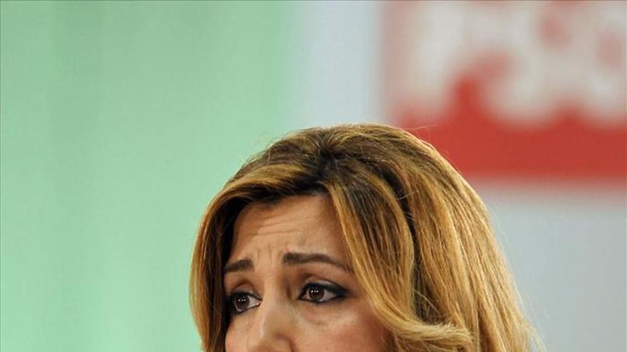 """Susana Díaz: """"Al PSOE le pasa como a equipos grandes, todos quieren ganarle"""""""