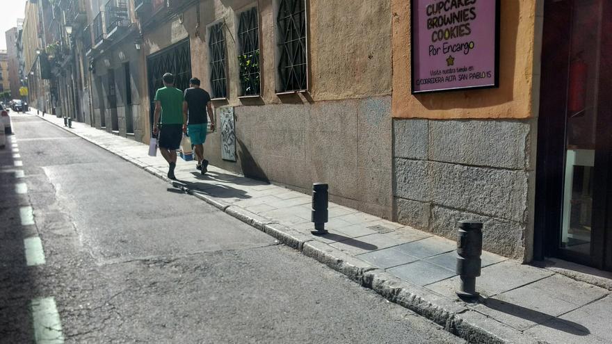 Calle San Vicente Ferrer con Acuerdo   SOMOS MALASAÑA