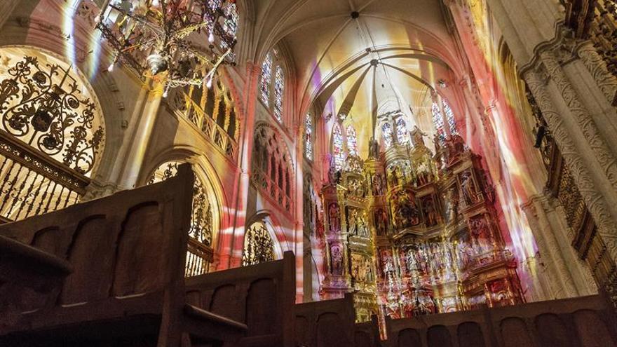 """Coeln """"juega"""" con la luz gótica y de nueva generación en la catedral de Burgos"""
