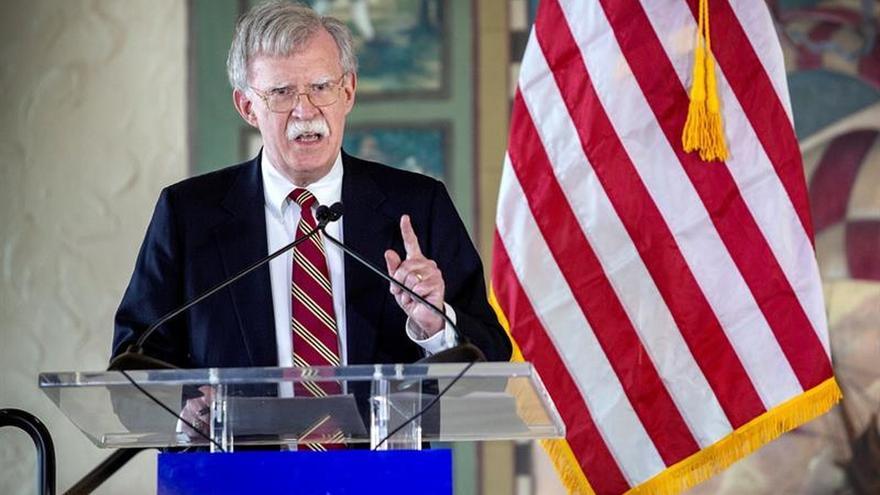 John Bolton no oculta que EEUU está interesada en el petróleo venezolano.