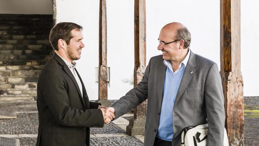 Mariano Hernández y Rafael Rebolo.