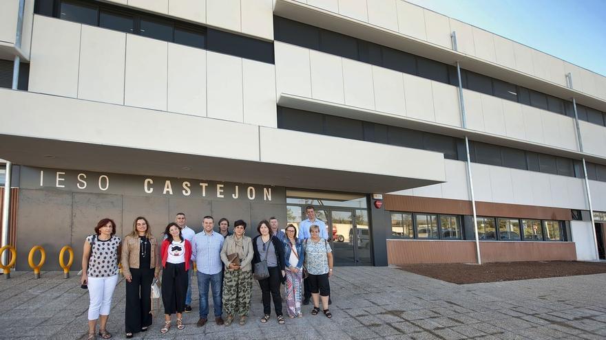 Educación invierte 2,6 millones en el nuevo instituto de Castejón y más de un millón en Huertas Mayores de Tudela