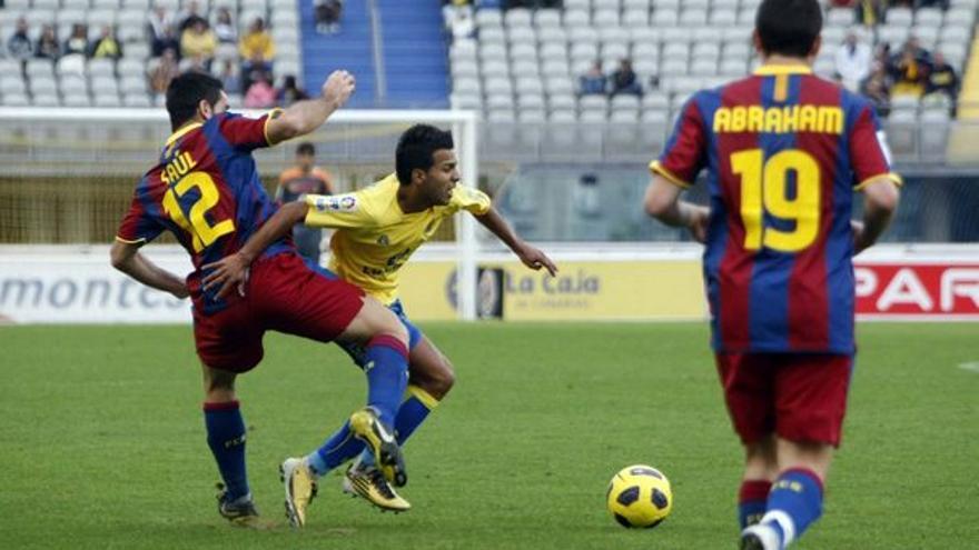 Del UD Las Palmas-Barcelona B #12