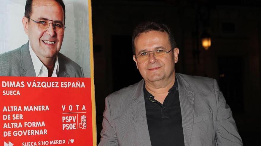 Dimas Vázquez, candidato del PSPV en Sueca