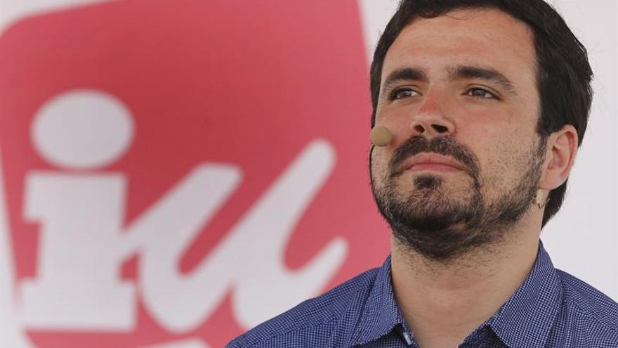 Alberto Garzón apela a los indecisos de izquierda para ganarle al PP