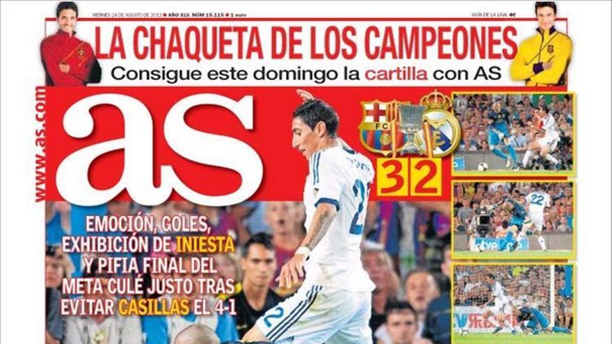 De las portadas del día (24/08/2012) #11