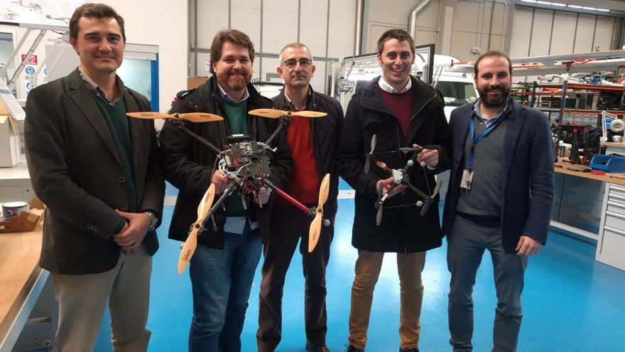 Emasesa y drones