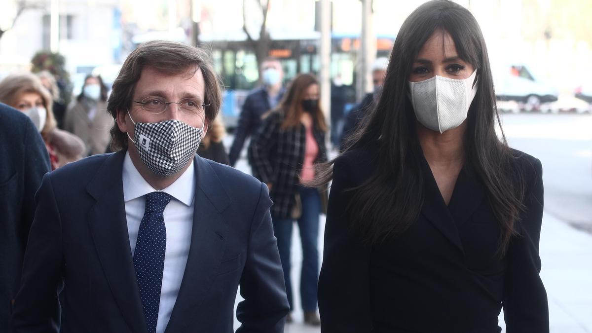 El alcalde de Madrid, José Luis Martínez-Almeida, y la vicealcaldesa en una fotografía reciente.