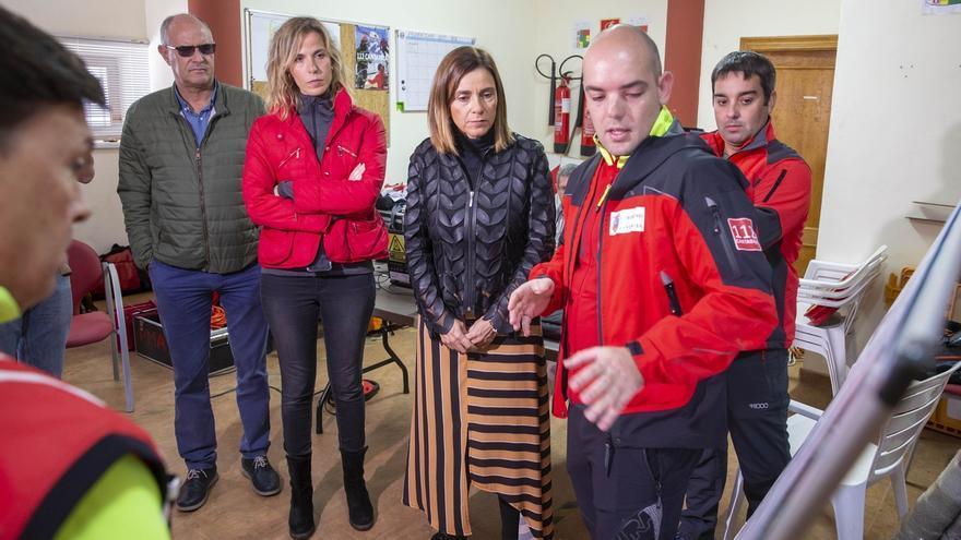 Salen en buen estado los cuatro espeleólogos portugueses atrapados en la cueva de Coventosa