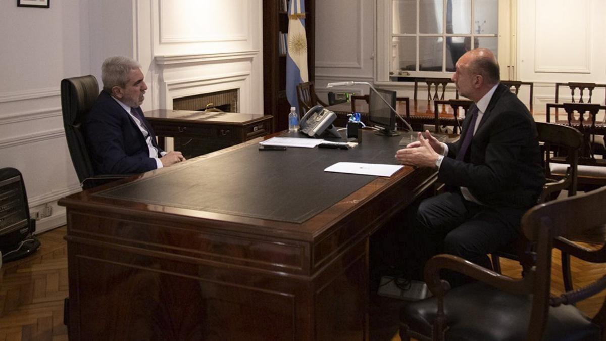 Aníbal Fernández anticipó que se comunicarán medidas sobre la seguridad en Rosario en la semana entrante.