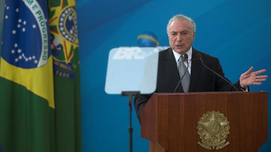 El 94 % de los brasileños rechaza el gobierno de Michel Temer, según una encuesta